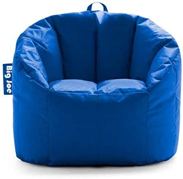 Big Joe Milano Bean Bag Chair Multiple Colors 32 X 28 X 25 Stadium Blue