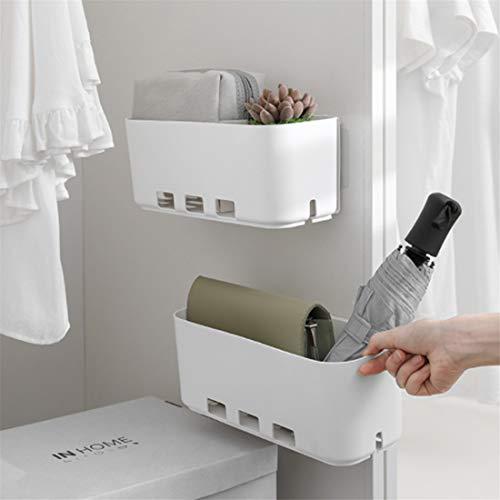 BesDirect Ausziehbarer Schrank Regal, Küche Ausziehbarer Schrank Korb Organizer, Ausziehbare Kunststoff-Schubladen, Aufbewahrungskorb Schublade für Badezimmer, Küche unter Waschbecken Lagerung