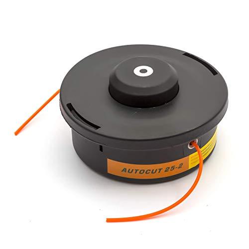 Stihl Compatible Auto Corte 25-2 Nylon Bump Alimentar Cabezal para Jardín Desbrozadoras FS55 FS56 FS70 FS80 FS83 FS87