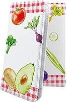 シンプルスマホ3 ケース 手帳型 野菜 アボカド セロリ トマト スマイル ニコちゃん シンプルスマホ シンプルスマートフォン ケース 手帳型ケース ユニーク おもしろ おもしろケース smaho 3 ケース 和柄 和風 日本 japan 和 10198-5qqefg-10001452-smaho 3