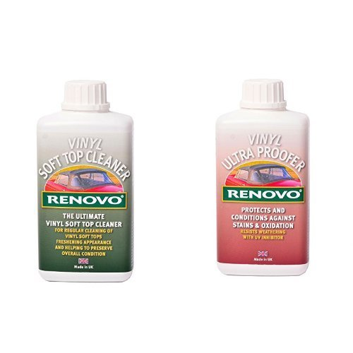 Ronovo Bundle enthält Vinyl Cleaner 500 ml und Vinyl Ultra Proofer 500 ml