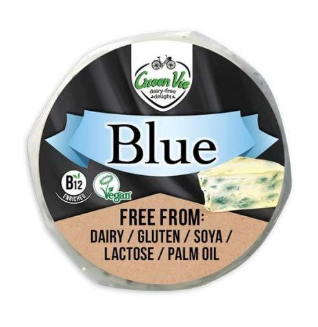GreenVie Bloque de queso rueda Azul vegano 200g (Pack de 2)