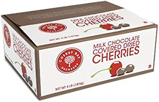Milk Chocolate Covered Dried Montmorency Cherries 4lb box