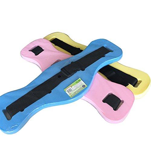 Ewer 1 Pack Swim Belt Floatation Belt, Safe EVA Swim Weight Belt, Adjustable Jogging Flotation Belt for Learning Training, Beautifully Designed Swim Waist Belt for Kids Adults, Color Random
