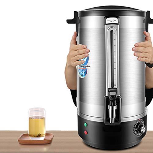 Calentamiento instantaneo para cafe y te, Apagado automatico/proteccion en seco para hervir, Control automatico de Temperatura Gran Capacidad con preparacion rapida Facil preparacion y Limpieza