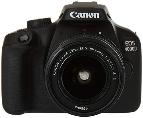 Canon EOS 4000D BK 18-55 is EU26 Boîtier d'appareil-Photo SLR 18 MP...