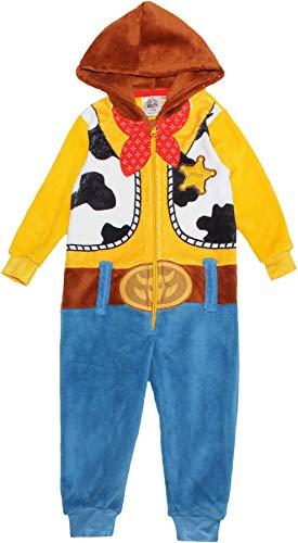 Toy Story 4 Jungen Kostüm Schlafanzug Hoodie Onesie Blau 2-3 Jahre (98CM)