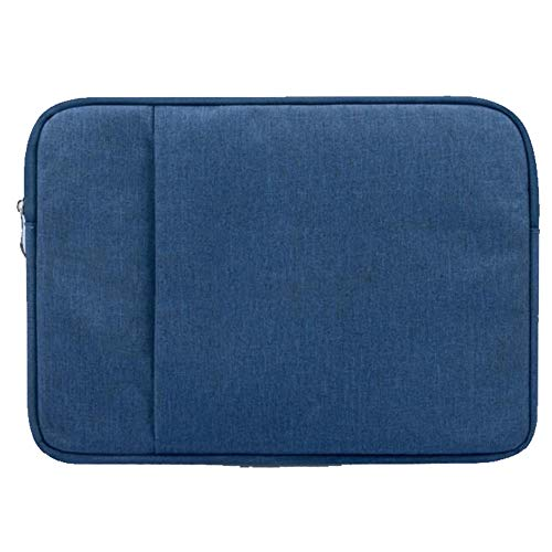 Simplicity Laptop Sleeve Case 14/15./15.6 Inch Notebook Travel Carrying Bag Waterproof Protective Cover For Macbook Air Pro 13 15 (Color : Blue, Size : 11-inch)