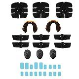 Cloverclover Estimulador Muscular Definitivo Equipo De Entrenamiento USB Entrenador De Cadera Ajuste De Cuerpo Completo, 32Pcs / Set