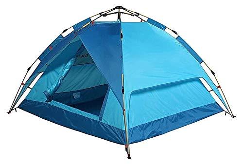 pwmunf Tienda de campaña para Camping al Aire Libre Configuración fácil de Acampar Tienda de campaña Mochila Ligera Tienda, Senderismo y Viajes de montaña (Color : Blue, Size : 200x180x115cm)