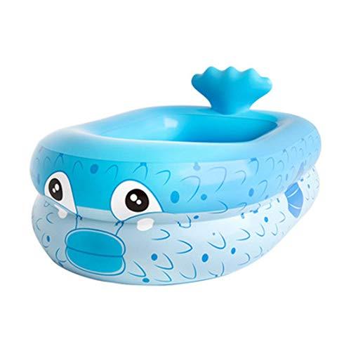 JGHF verano vocación niños agua inflable tortuga juguete piscina flotante. flotante rowinflatable anillo de natación (160 cm, azul)