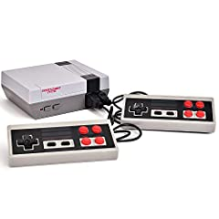 【Note】: this game consoel is not Nintendo classic mini console.It is alternatives and you can play it funny.if you have any problem.please feel free to contact with us【AV DISPLAY】: Connect to your TV via AV Output and play hundreds of classic games i...