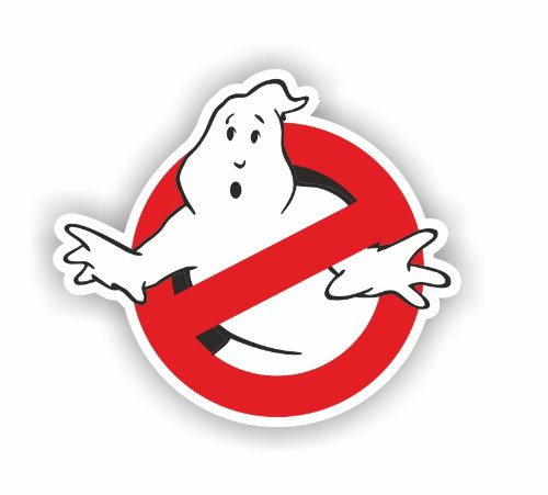 Sea View Stickers Ghostbuster Auto-/LKW-Aufkleber