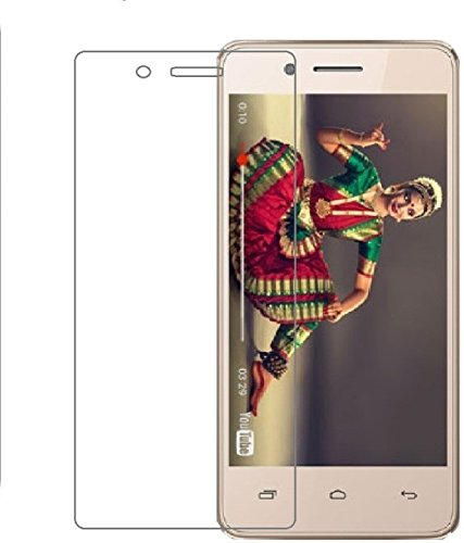 SmartLike Micromax Bharat 2 4G 2.5D 9H HD+ Anti Finger Print, Tempered Glass for Micromax Bharat 2 4G