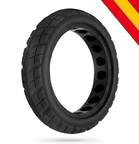"HORO.ES Repuesto Neumático Rueda Mejorada 8,5"" sólido para Scooter Eléctrico Xiaomi Scooter M365 - Negro (Neu x1)"
