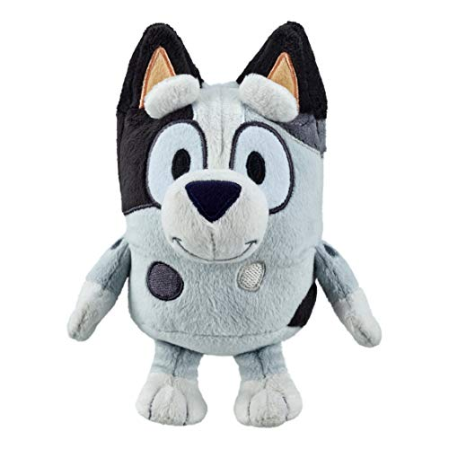 Bluey Friends - Muffin 6.5' Tall Plush - Soft and Cuddly, Multicolor, 8 inches, 13027