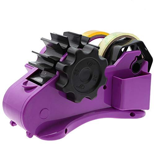 ACAMPTAR Dispensador de Cinta SemiautomáTico con Cortador de Cinta de Longitud Fija de 35 Mm Herramientas de Hogar de Embalaje de Oficina de Escritorio