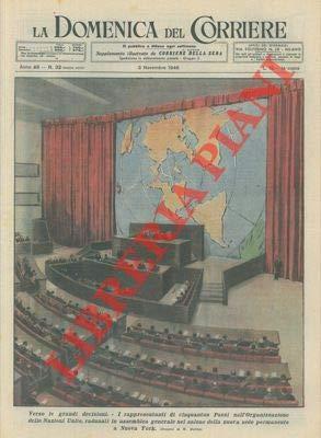 I rappresentanti di 51 paesi dell'Organizzazione delle Nazioni Unite, radunati in assemblea nella nuova sede permanente a New York.