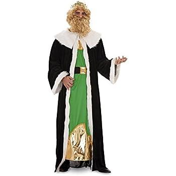 Disfraz o traje de Rey Mago Gaspar de hombre talla M-L: Amazon.es ...