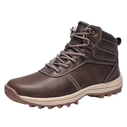 Heetey Mode Stiefel Männer Militärische Taktische Stiefel Arbeitsschuhe Knöchelschuhe Turnschuhe Klettern Wanderschuh Mode Stiefel Arbeitsschuhe und Turnschuhe Wandern Wanderschuhe