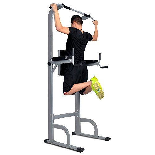 HYD-Parts Power Tower,Standing Full Body Chin up Bar,Adjustable Dip Station,Pull up Tower,Strength Training Fitness Workout