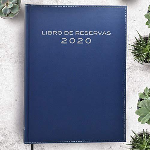 Libro de Reserva 2020 - Color Azul Marino- Especializado en restaurantes, hostelería y restauración …