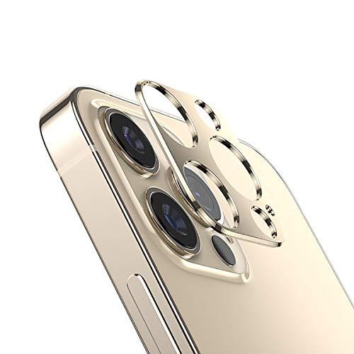 Effcotuo [2 Pack] Zurück Kamera Lens Protector für iPhone 12 Pro Max 6,7
