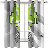 Modernas Cortinas Tridimensionales Simples En 3D Sombreado A Prueba De Sol Lavables Perforadas Fácil De Instalar Ventana Mirador Adecuada para Sala De Estar Dormitorio Balcón Mirador