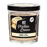 nu3 Fit Protein Creme 200g – Crema de chocolate blanco para untar – Sin aceite de palma ni gluten – Baja en carbohidratos – Con 21% de proteína – Crema proteica – Alternativa fitness baja grasas