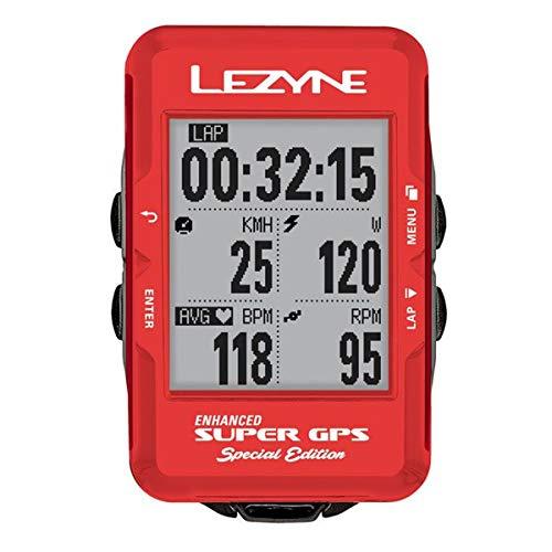 Lezyne Enhanced Super GPS Ordenador Ciclismo