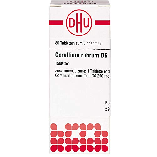 DHU Corallium rubrum D6 Tabletten, 80...