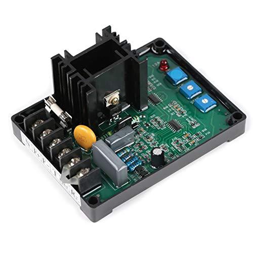Regulador de voltaje automático GAVR-12A, partes del grupo electrógeno del controlador del regulador, controlador del regulador de voltaje automático para piezas de ajuste de la estabilidad del voltaj
