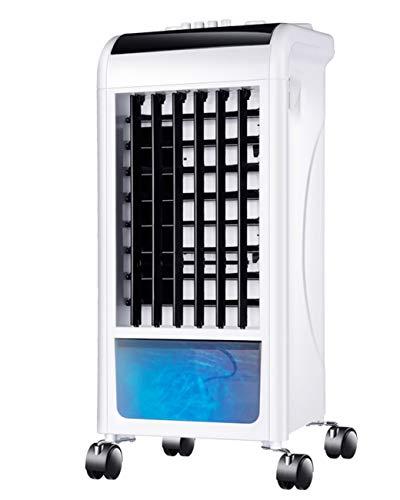 Elektrische ventilator, materiaal: kunststof, wit, tips: