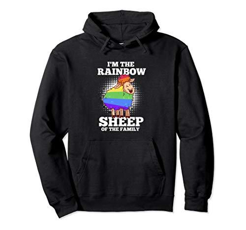 LGBT Pride Gay Rainbow Sheep Geschenk Für Schwule & Lesben Pullover Hoodie