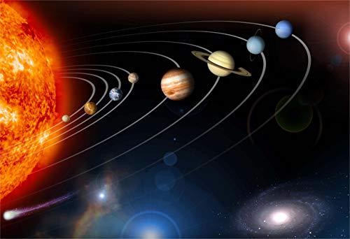 New Horizon Aviation, LLC Solar System Fine Art Print