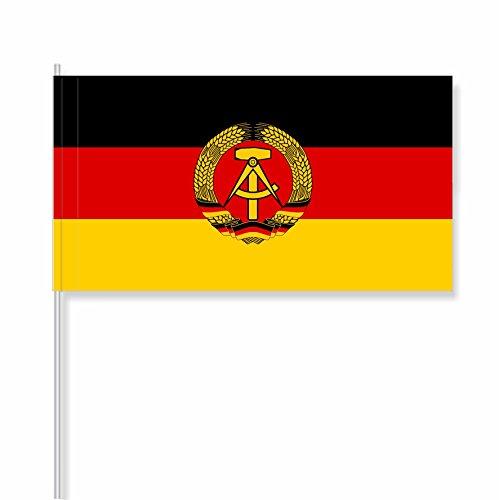 """antrada Papierfähnchen """"Deutsche Demokratische Republik (DDR)"""" (50 Stück)"""