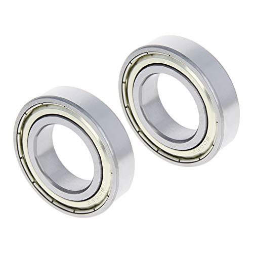 Othmro 6006-ZZ Ball Bearing 30mm x 55mm x 13mm Double Sealed Deep Groove Bearings High Carbon Steel Z1 (Pack of 2)