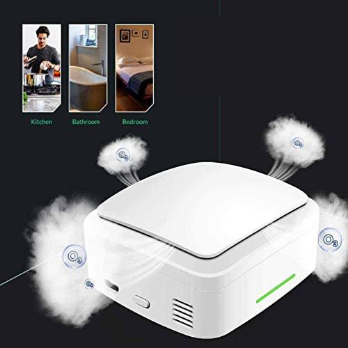KUYT Ozongenerator Geruchskiller,Ozon Reiniger Luftreiniger Lufterfrischer Ozonator Für Zimmer/Auto/Haustiere Bis 10M²