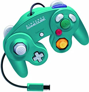 Nintendo GameCube dedicated controller emerald blue