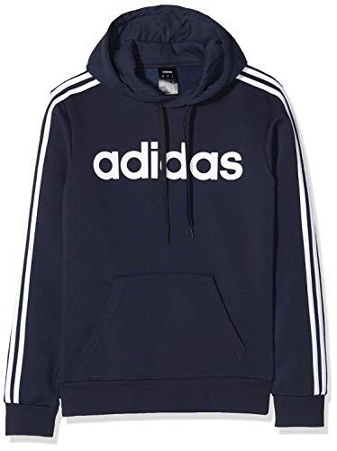 Adidas E 3S PO FL Sudadera con Capucha, Hombre, Azul(Legend Ink/White), M