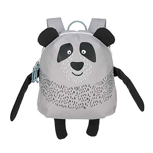 LÄSSIG Kinderrucksack Kindergarten mit Brustgurt ab 3 Jahre/Backpack About Friends, Pau Panda, 28 cm, 3,5 L
