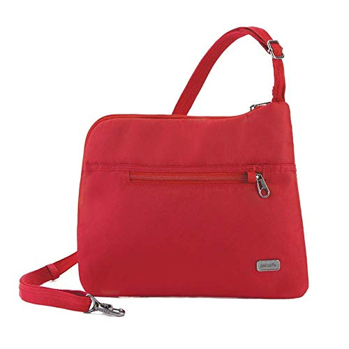 Pacsafe Daysafe Anti-Theft Slim Crossbody Bag Baked Apple One Size