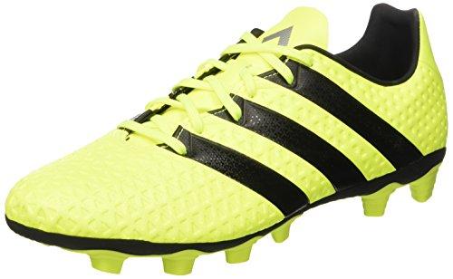 adidas Ace 16.4 FxG, Botas de fútbol para Hombre, Amarillo (Amasol/Negbas/Plamet), 41 1/3 EU