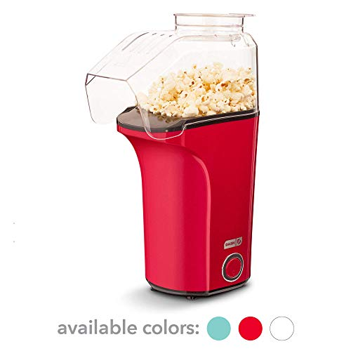 Hot Air Popcorn Popper, Red