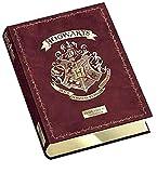 Diario scuola Harry Potter Limited Edition Standard 2021-2022 Burdeos 13 x 18 cm + llavero silbato y juego cubo de regalo