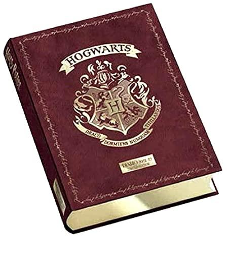 Diario scuola Harry Potter Limited Edition Standard 2021-2022 Bordeaux 13x18cm + Omaggio portachiave Fischietto e Gioco cubo