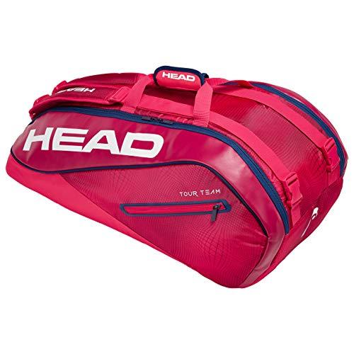 HEAD Unisex– Erwachsene Tour Team 9R Supercombi Tennistasche, RANV, Einheitsgröße