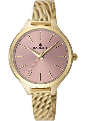 Radiant Reloj Analógico para Mujer de Cuarzo con Correa en Acero Inoxidable RA412203