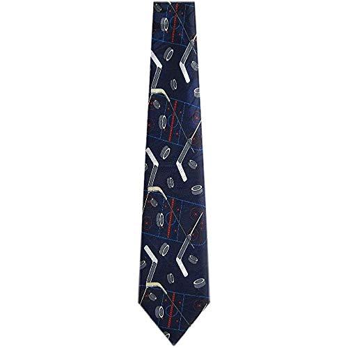 Herren Hockeyschläger und Pucks Krawatte