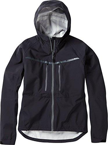 Madison Zena Waterproof Ladies MTB Jacket - Black, Size 16 / Cycling Cycle Biking Bike Mountain MTB Trail Clothing Winter Commute Dirt Jump Rain Water Resistant Hooded Hood Coat Top Wear
